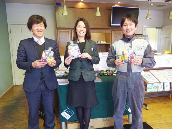 菓子袋詰め取り扱い店様ご紹介 『神戸トヨペット㈱新三田店様』