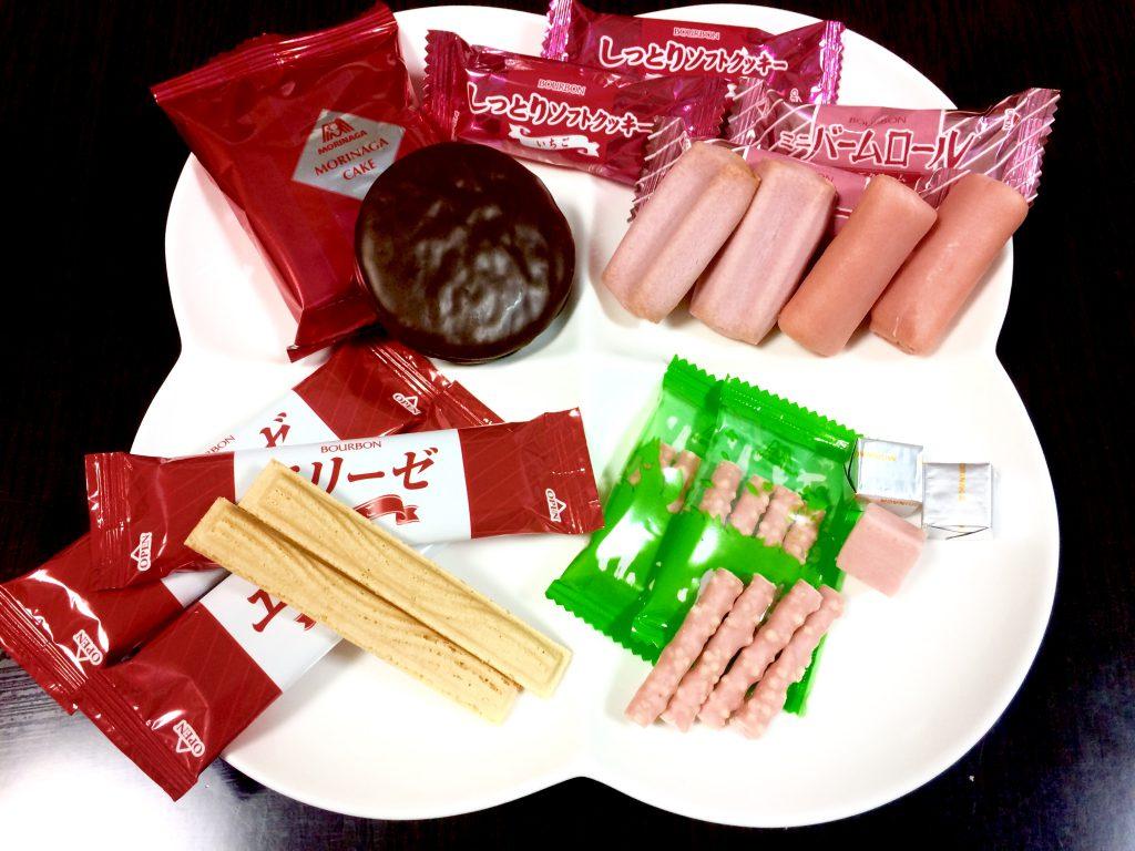 お菓子問屋が食べたくなる。おすすめ商品 メーカーいろいろイチゴフレーバー