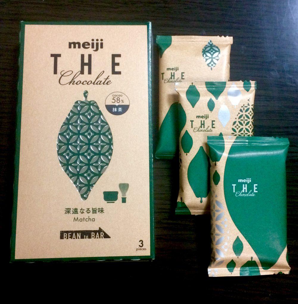 お菓子問屋が食べたくなる。おすすめ商品「明治  明治ザ・チョコレート深遠なる旨味抹茶」